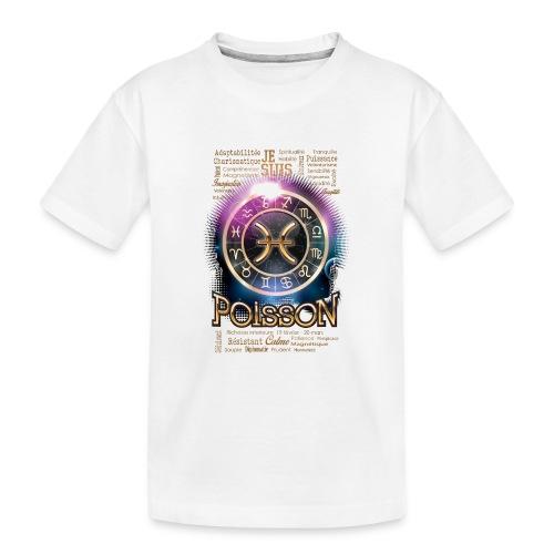 POISSONS - T-shirt bio Premium Ado