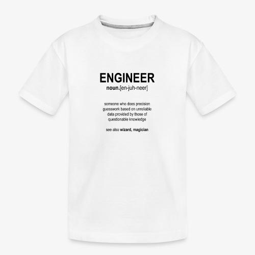 Engineer Def. 1 (Black) - T-shirt bio Premium Ado