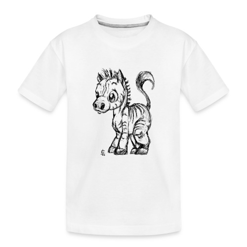 zebre - T-shirt bio Premium Ado