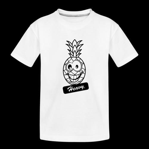 Design Ananas Heavy - T-shirt bio Premium Ado