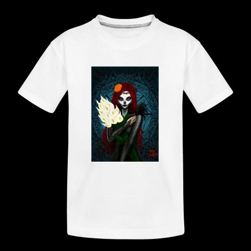 Death and lillies - Teenager Premium Organic T-Shirt