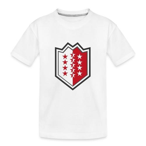 Bouclier moderne du Valais - Teenager Premium Bio T-Shirt