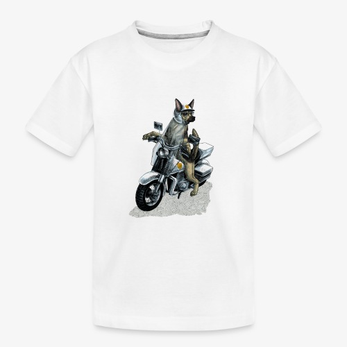Police Dog - Teenager Premium Organic T-Shirt