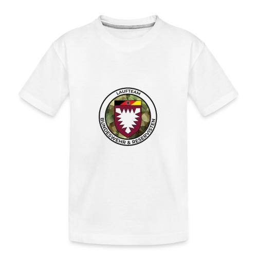 Logo des Laufteams - Teenager Premium Bio T-Shirt