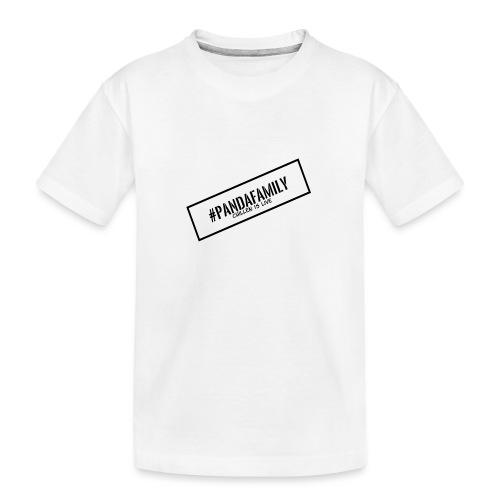 #PandaFamily [Balken] - Teenager Premium Bio T-Shirt