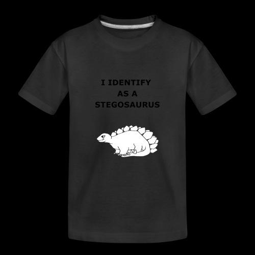 Stegosaurus - Teenager Premium Organic T-Shirt