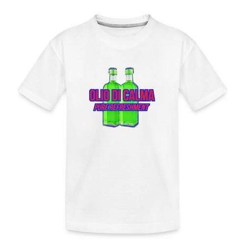 OLIO DI CALMA LINE - Maglietta ecologica premium per ragazzi