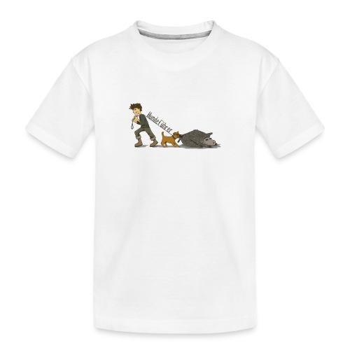 Hundeführer - Teenager Premium Bio T-Shirt