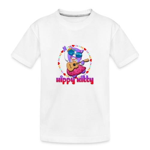 Hippy Kitty - Maglietta ecologica premium per ragazzi