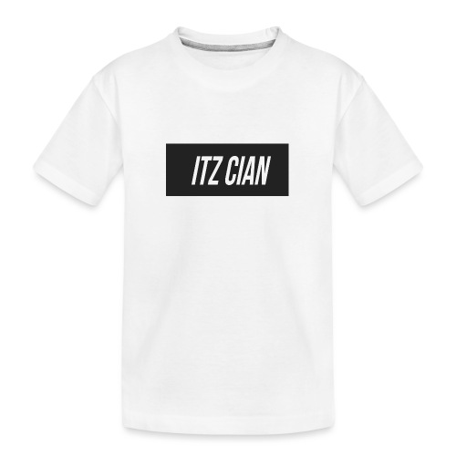 ITZ CIAN RECTANGLE - Teenager Premium Organic T-Shirt