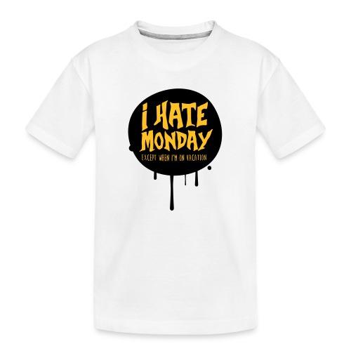 je déteste le lundi - T-shirt bio Premium Ado