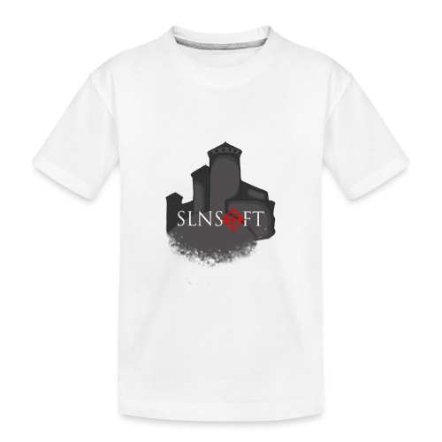 slnsoft - Teinien premium luomu-t-paita