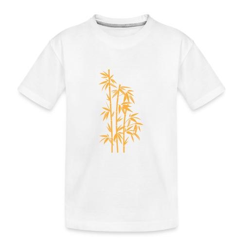 Giallo Dafne 01 - Maglietta ecologica premium per ragazzi