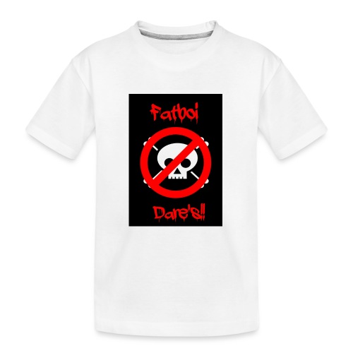 Fatboi Dares's logo - Teenager Premium Organic T-Shirt