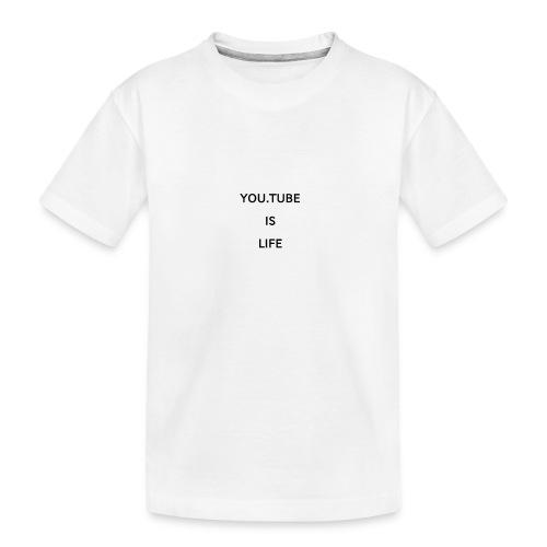 1520942615198 - Ekologisk premium-T-shirt tonåring