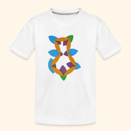 oranjeblanjebleu - Teenager premium biologisch T-shirt