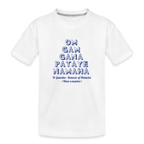OM GAM GANAPATAYE - Maglietta ecologica premium per ragazzi