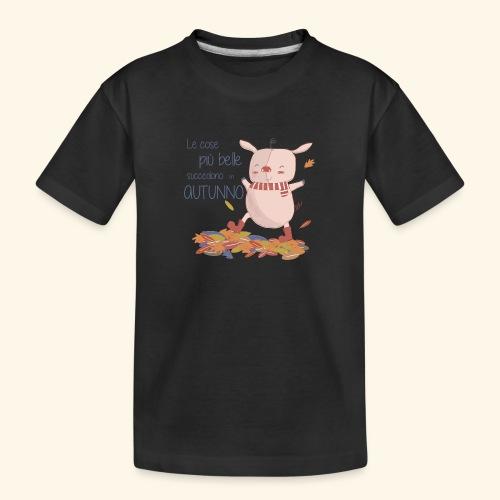 Autumn - Teenager Premium Organic T-Shirt