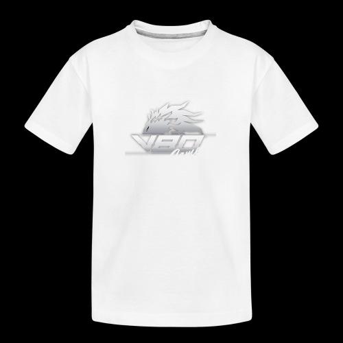 logo lionheartv80 chiaro trasparente - Maglietta ecologica premium per ragazzi