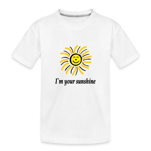 2i m youre sunshine Gelb Top - Teenager Premium Bio T-Shirt
