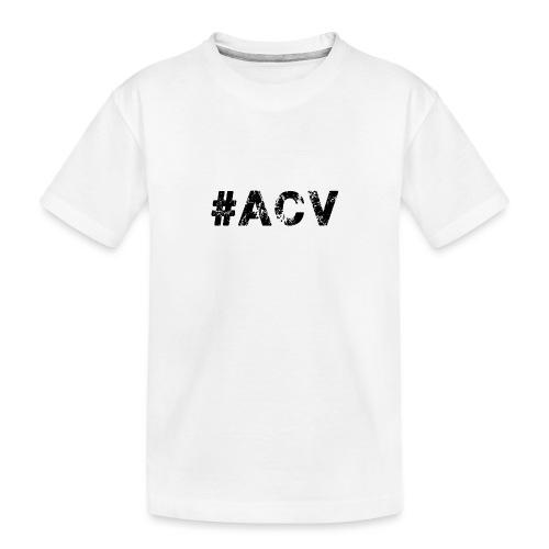 #ACV Logo - Teenager Premium Bio T-Shirt
