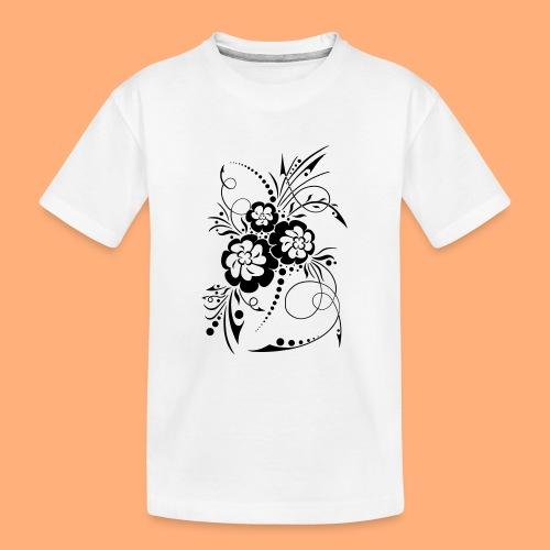 exposion florale - T-shirt bio Premium Ado