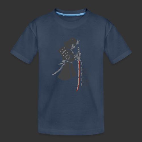 Samurai Digital Print - Teenager Premium Organic T-Shirt