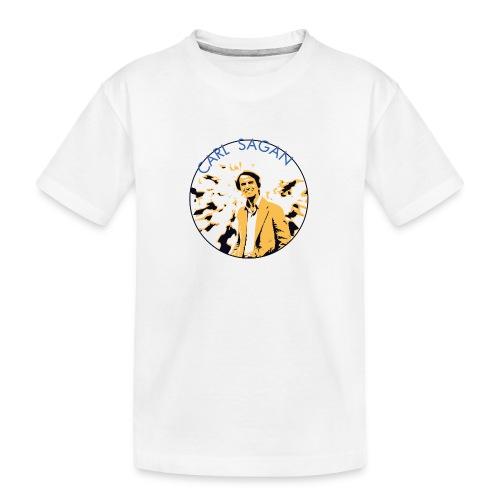 Vintage Carl Sagan - Teenager Premium Organic T-Shirt