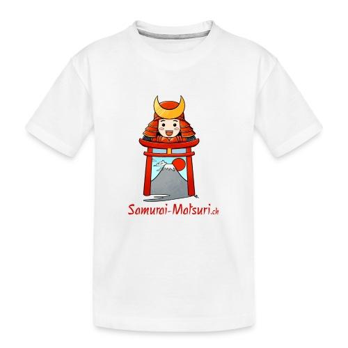 Samurai Matsuri Torii - Teenager Premium Bio T-Shirt