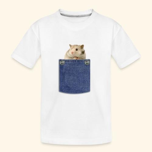 hamster in the poket - Maglietta ecologica premium per ragazzi