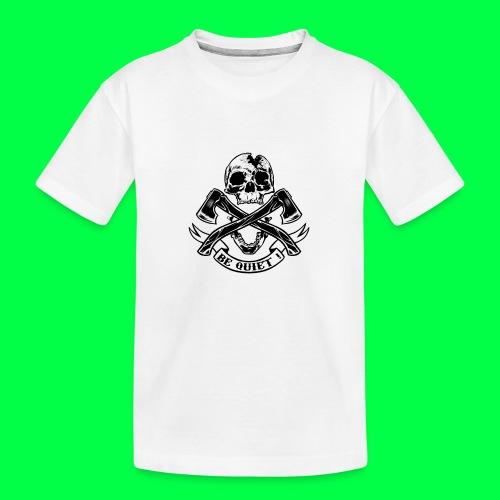 BE QUIET - T-shirt bio Premium Ado