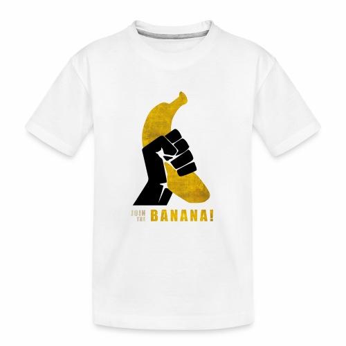 Join the Banana ! Wankil - T-shirt bio Premium Ado