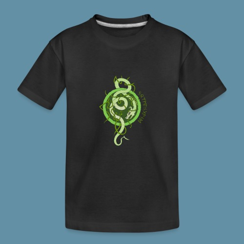 Jormungand logo png - Maglietta ecologica premium per ragazzi