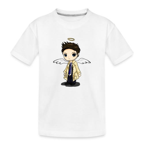 Team Castiel (dark) - Teenager Premium Organic T-Shirt