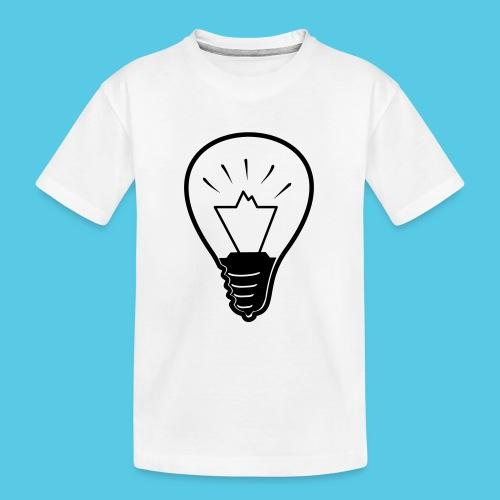 glühende Berge - Teenager Premium Bio T-Shirt