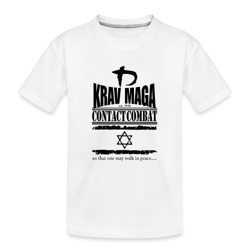 Krav Maga Est.1948 - Teenager Premium Organic T-Shirt