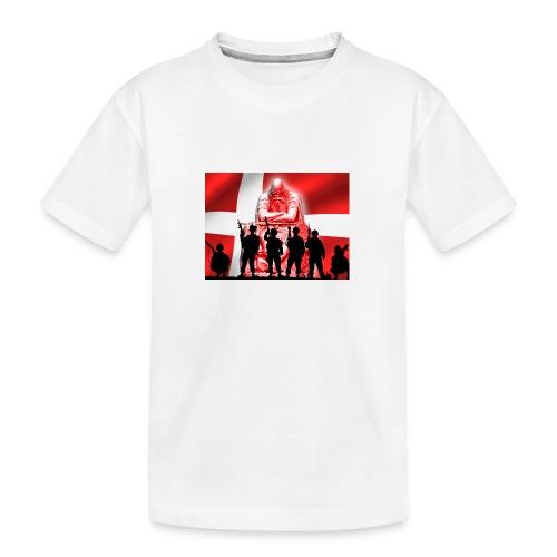 Holger Danske - Teenager premium T-shirt økologisk