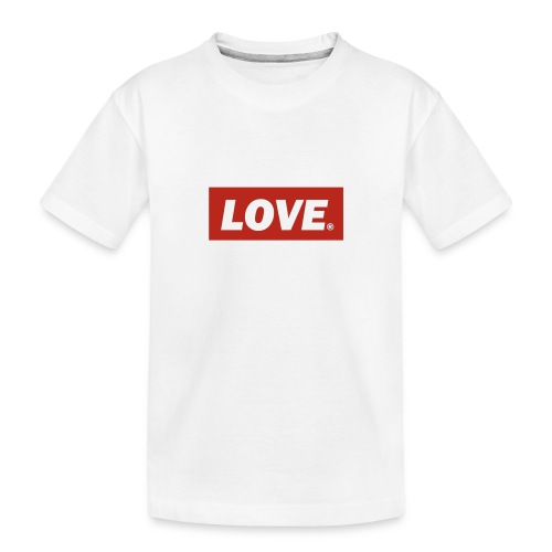 amor - Camiseta orgánica premium adolescente