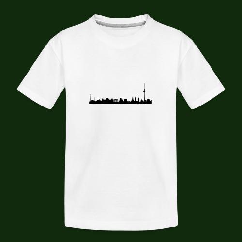 Berlin Skyline - Teenager Premium Bio T-Shirt