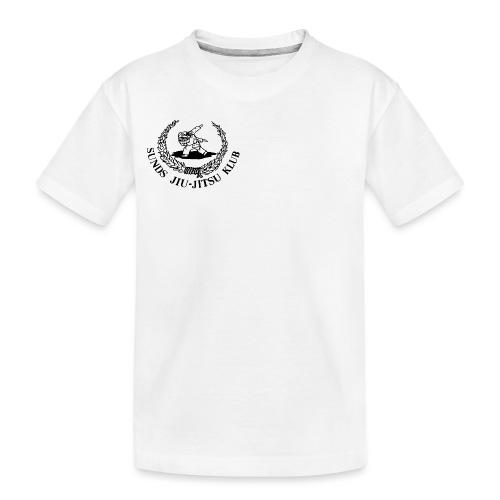 logo på brystet - Teenager premium T-shirt økologisk