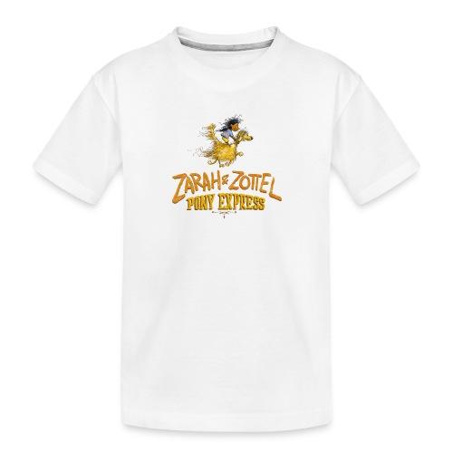 Zarah und Zottel Pony Express - Teenager Premium Bio T-Shirt