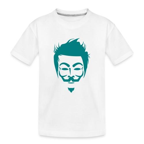 Anonymous Hipster - T-shirt bio Premium Ado