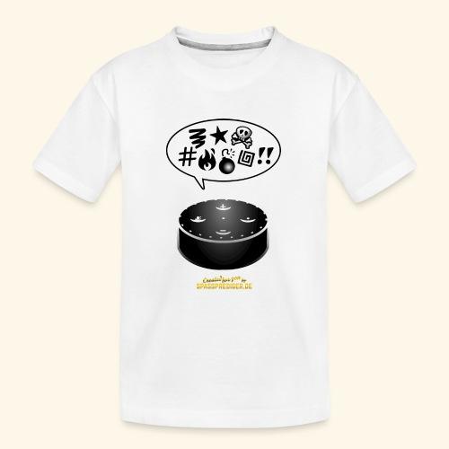 lustiges T-Shirt-Design Alexa flucht - Teenager Premium Bio T-Shirt