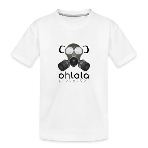 OHLALA PROTECTOR BLK - T-shirt bio Premium Ado