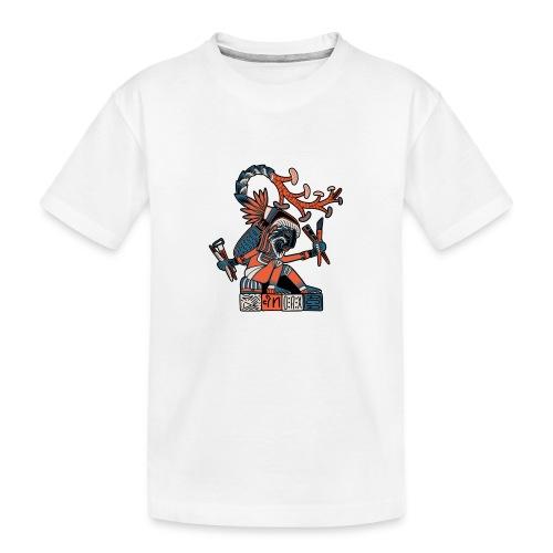 MAESTRO MEZCALERO PREHISPÁNICO - Camiseta orgánica premium adolescente