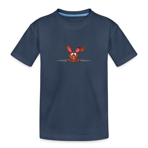 Cute bunny in the pocket - Maglietta ecologica premium per ragazzi