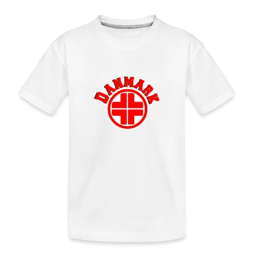 Denmark - Teenager Premium Organic T-Shirt