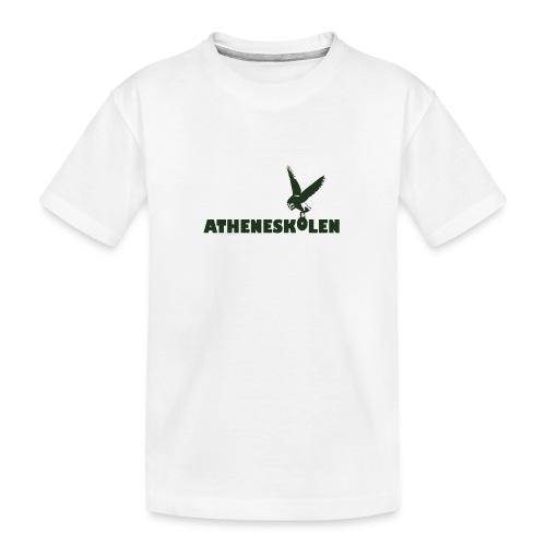 Mørkt logo - Teenager premium T-shirt økologisk