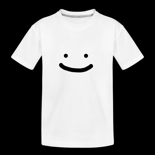 Smile - Ekologiczna koszulka młodzieżowa Premium