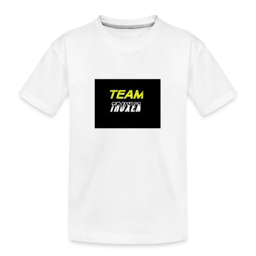 Truxenmerch - Ekologisk premium-T-shirt tonåring